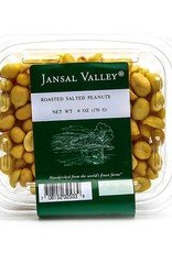 Jansal Valley Roasted Salted Peanuts 6 oz.