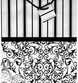 Black & White Gift Bag - Large