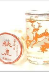 """Akishiki Shuzo """"Bambi"""" Cup Sake 180ml"""