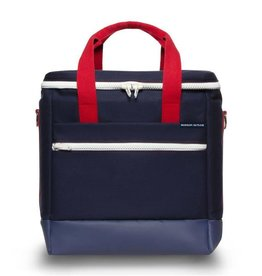 Hudson Sutler 30 Pack Cooler Bag - Yorktown Navy/Red