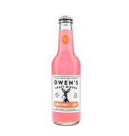 Owen's Craft Mixers Grapefruit & Lime - 750ml