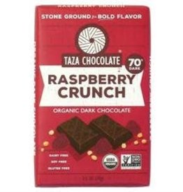 Taza Chocolate Bar Raspberry Crunch 2.5 oz
