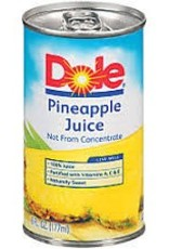 Dole Pineapple Juice Can - 6oz