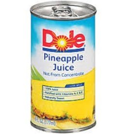 Dole Pineapple Juice Can - 6oz