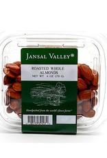Jansal Valley Whole Roasted Almonds 6 oz.