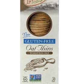 La Panzanella Gluten Free Toasted Oat Thins - 5 oz
