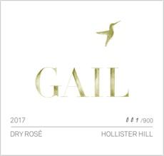 Gail Hollister Hill Rose 2017 - 750ml