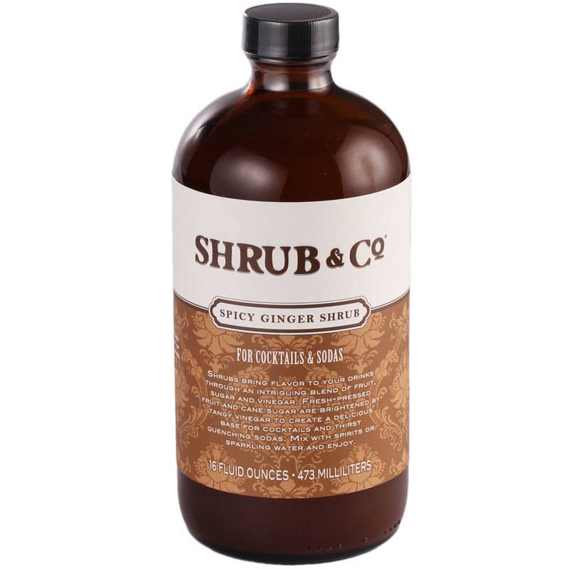Shrub & Co Spicy Ginger Shrub