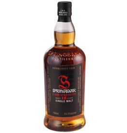 Springbank 12 yr Single Malt Whisky