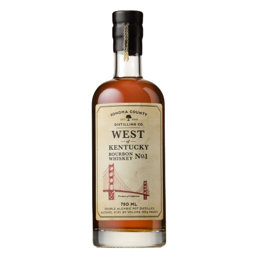 Sonoma West of Kentucky Bourbon Whiskey No. 1