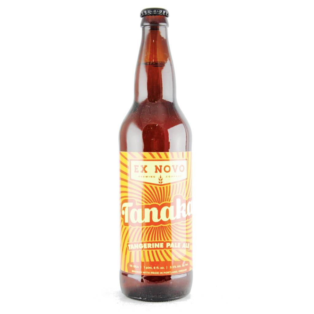 Tanaka Ex Novo Tangerine Pale Ale