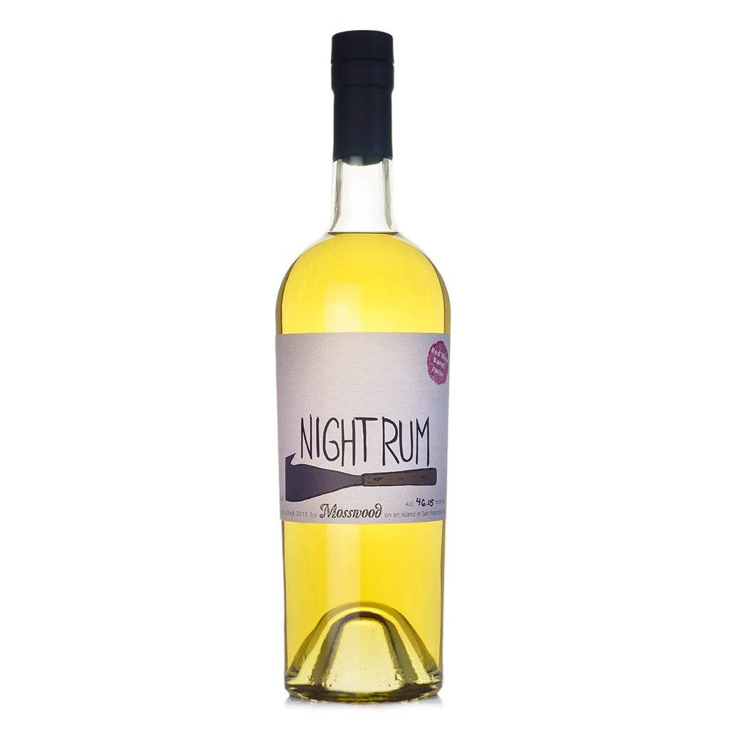 Mosswood Night Rum Red Wine Barrel