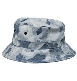 MAIDEN NOIR MAIDEN NOIR JACQUARD CAMO BUCKET CAP (INDIGO) O/S