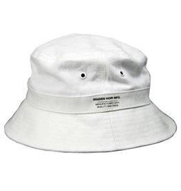 MAIDEN NOIR MAIDEN NOIR JACQUARD CAMO BUCKET CAP (WHITE)