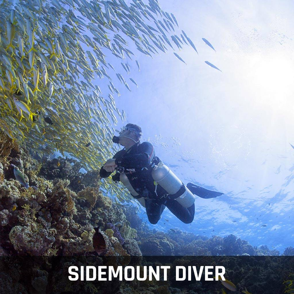 Rec Sidemount Diver Specialty Course