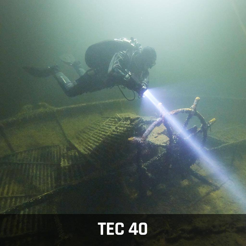 Tec 40 Technical Diver Course