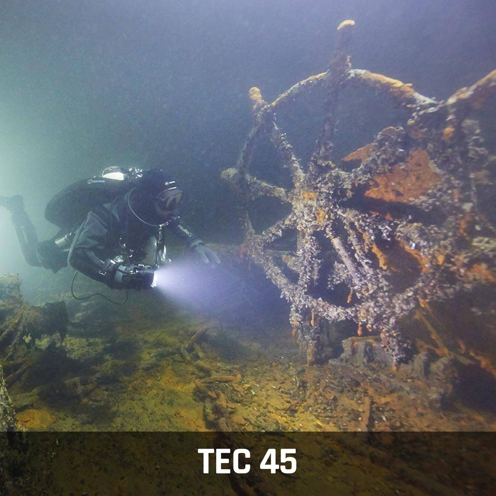 Tec 45 Technical Diver Course