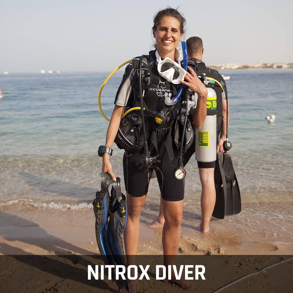 """Enriched Air """"Nitrox"""" Diver Course"""