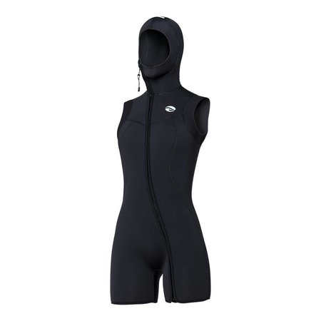 7mm  Step-in Hooded Vest women