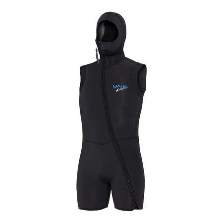 7mm Step-in Hooded Vest men
