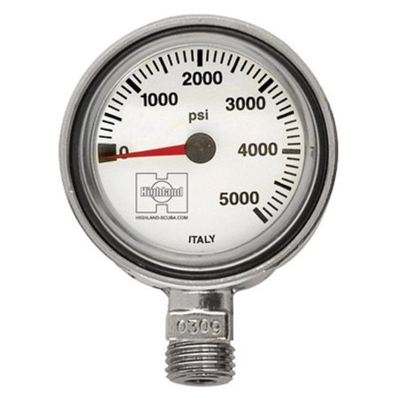 Manomètre de pression mince