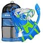Ensemble d'Apnée Avalon JR LX/Island Dry/Hingeflex JR