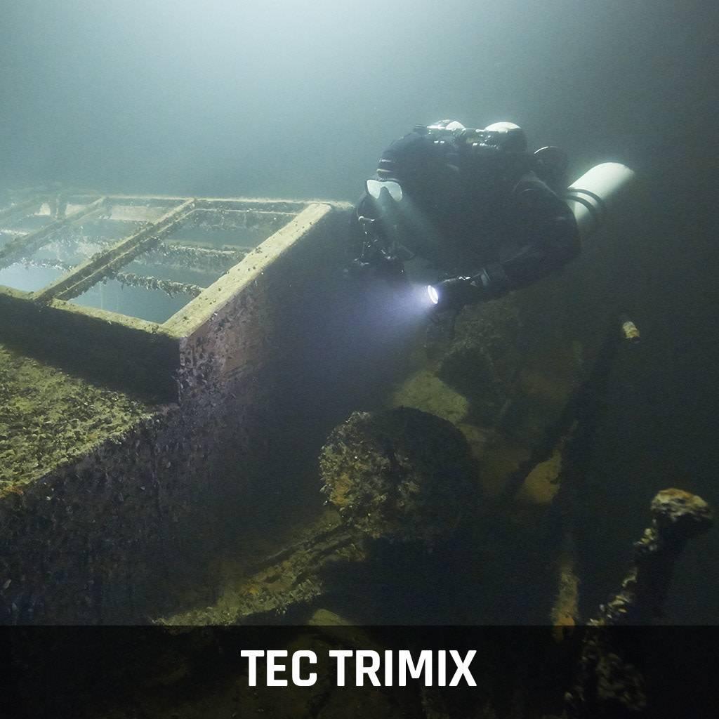 Tec Trimix - Cours de plongée technique
