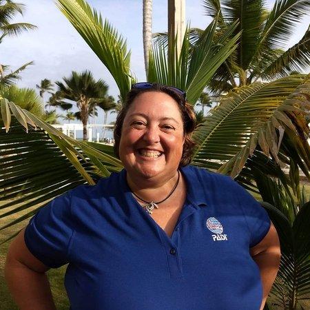 Irène Marcoux, directrice de cours PADI