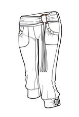 Nomads Hempwear Illyria Capris