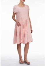 Flared Linen Dress