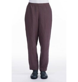 Straight Silk & Lenin Trousers
