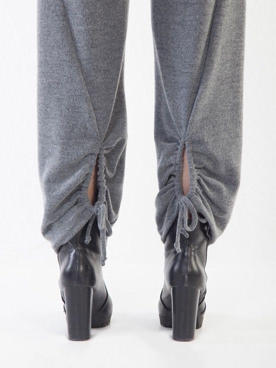 Tie Botton Pants