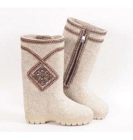 Vilk's Women Boots Snow White