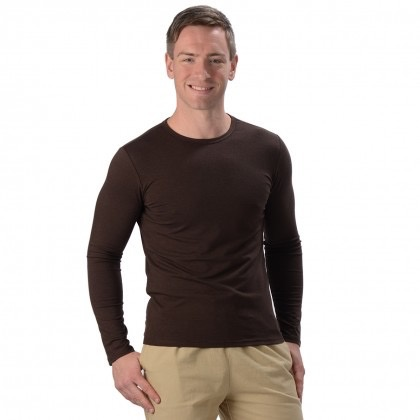 Men's Bamboo Fitted L/S Shirt