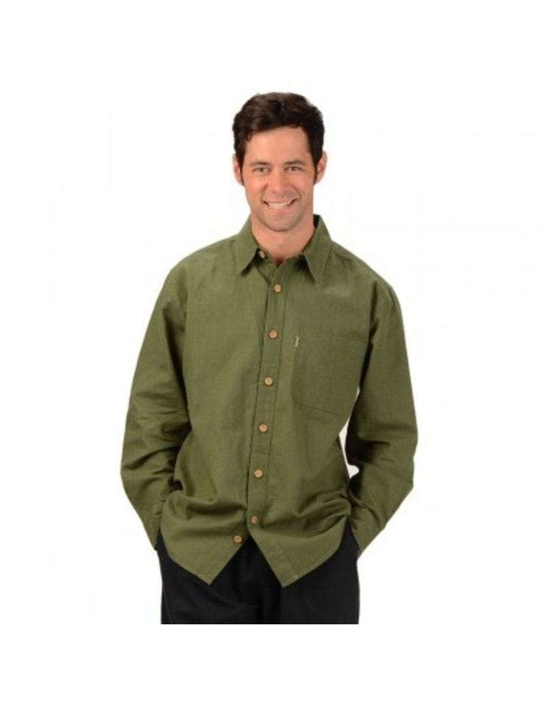 Men's Hemp L/S Muslin Shirt