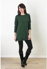Katie Crew Neck Tunic Sweater