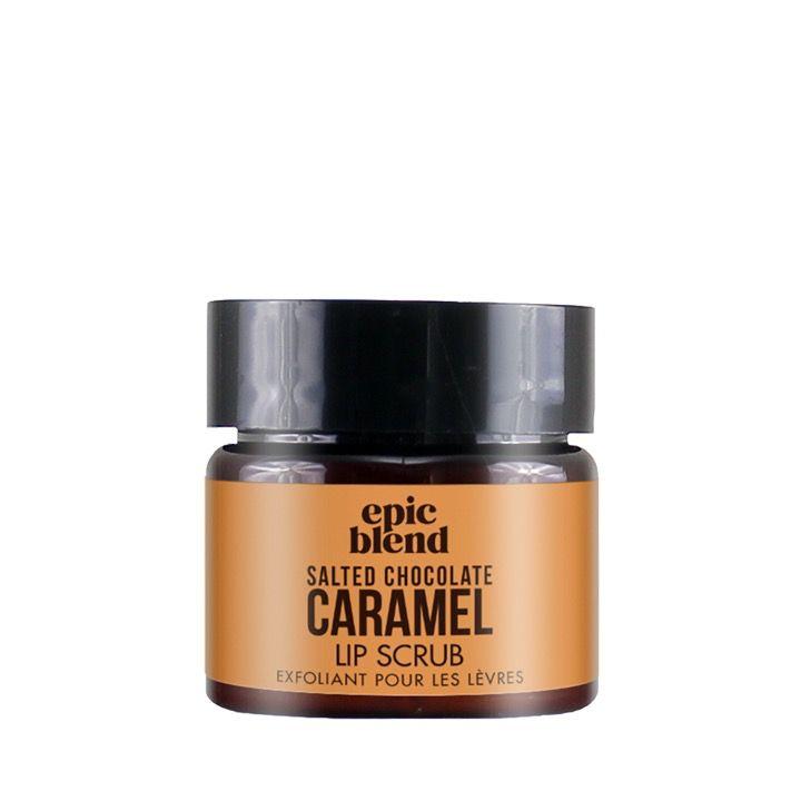 epic blend Lip Scrub Salted Chocolate Caramel