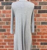 Grey Criss Cross Dress