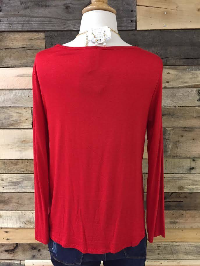 Red Knot Front Longsleeve