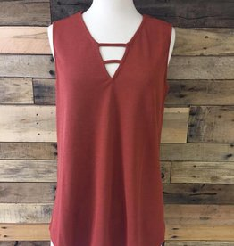 Textured Cut-Out Tank