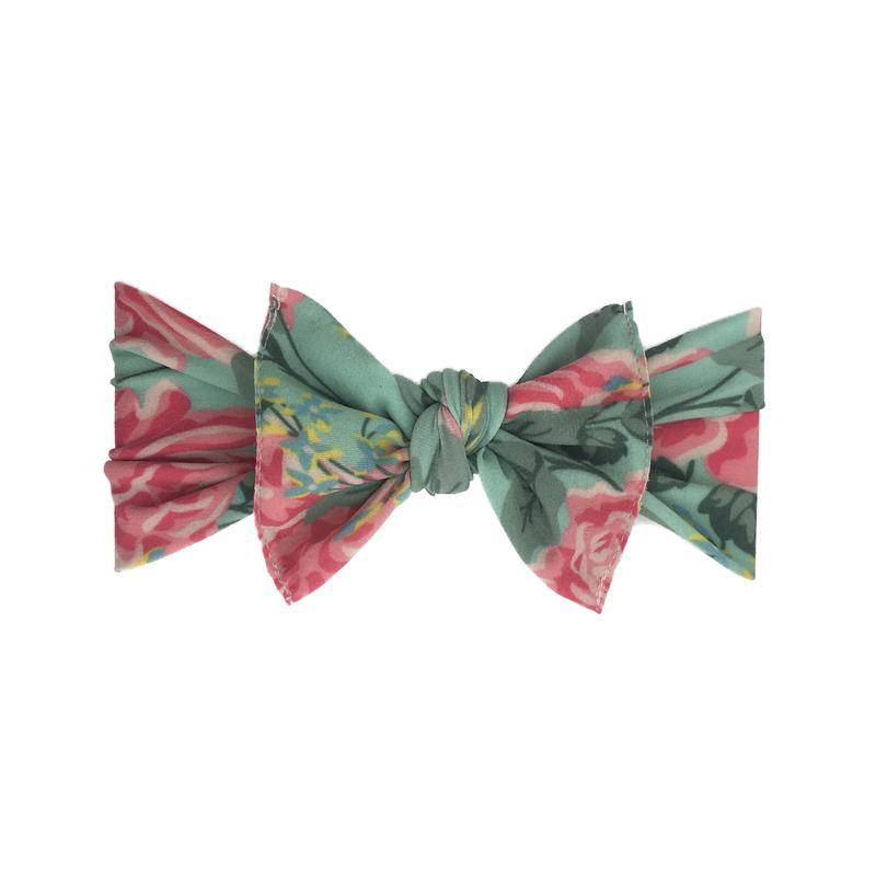 BabyBling Printed Knot Bow