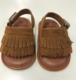 Brown Moccasin Sandal