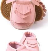 Pink Moccasin Sandal