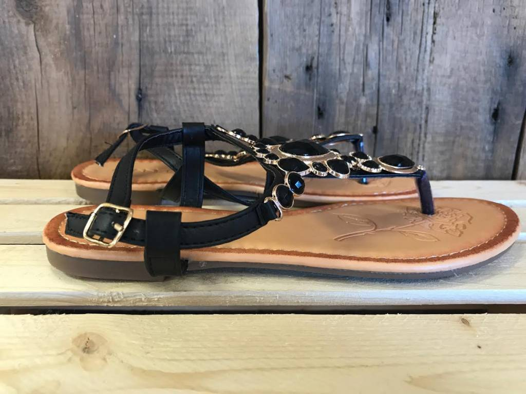 Black Imply Sandal