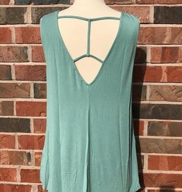Sage Strappy Tank