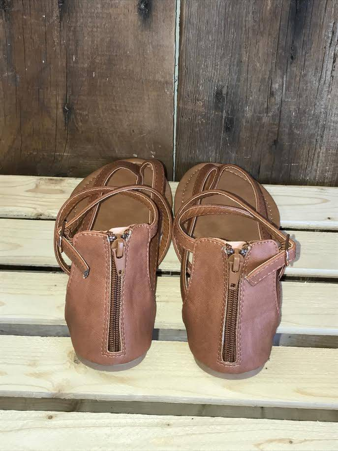 Tan Cheers Sandal