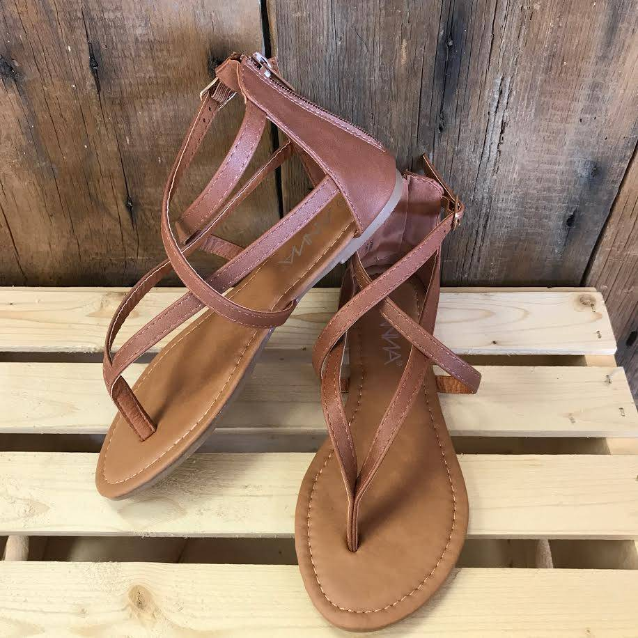 Tan Cheers Sandal