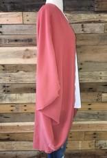 Solid Rust Kimono