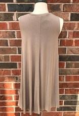 Taupe Swing Dress