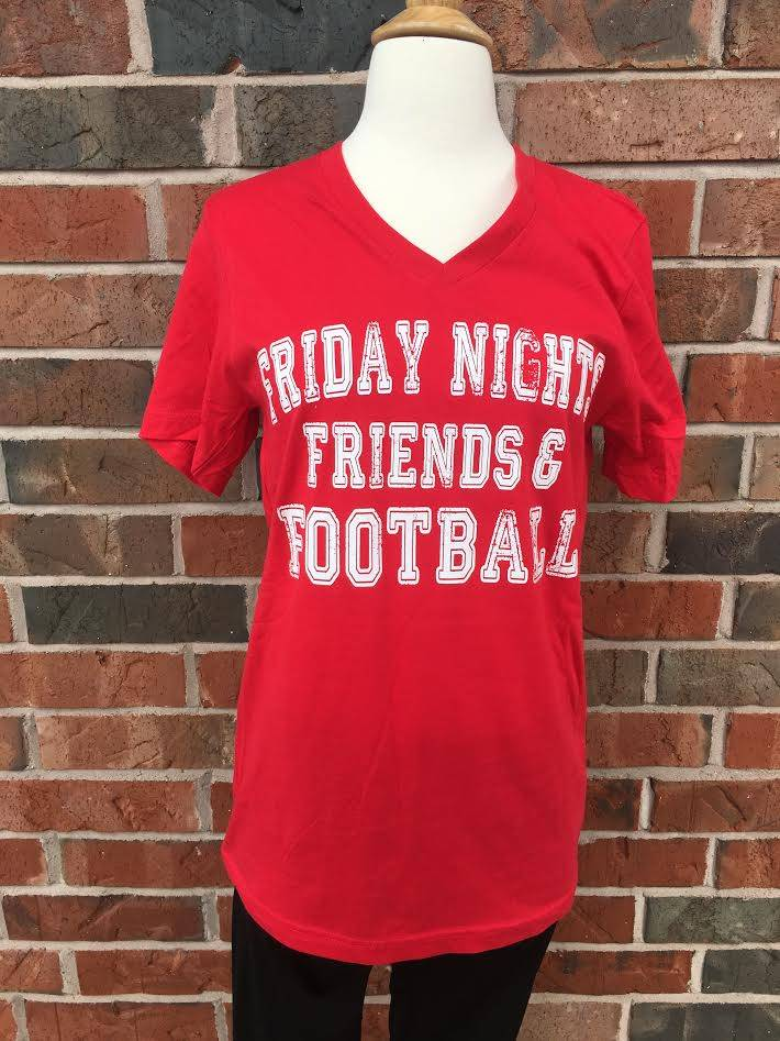 Red Friday Nights Tee